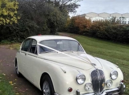 Classic Jaguar MK2 for weddings in Southend on Sea